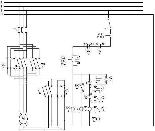 Circuit diagram for star state