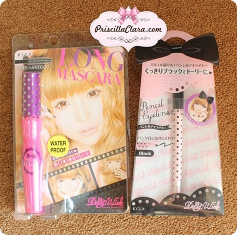 DW Mascara eye pencil copy