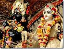 Radha and Krishna deity worship