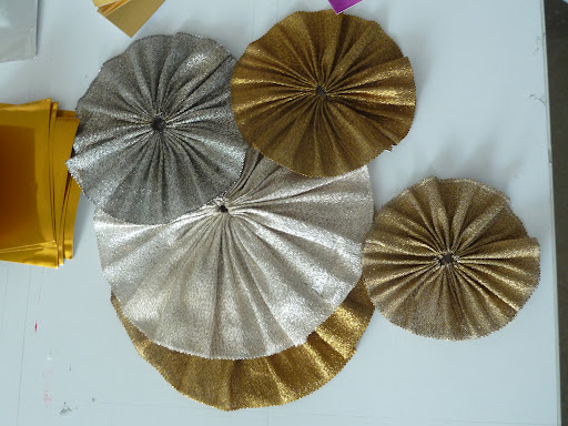 Vintage rosettes from Tinsel Trading.