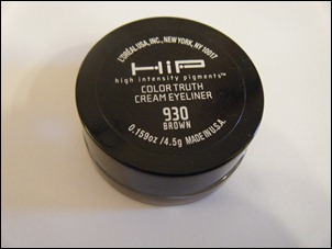 L'Oreal Brown HIP Color Truth Cream Eyeliner