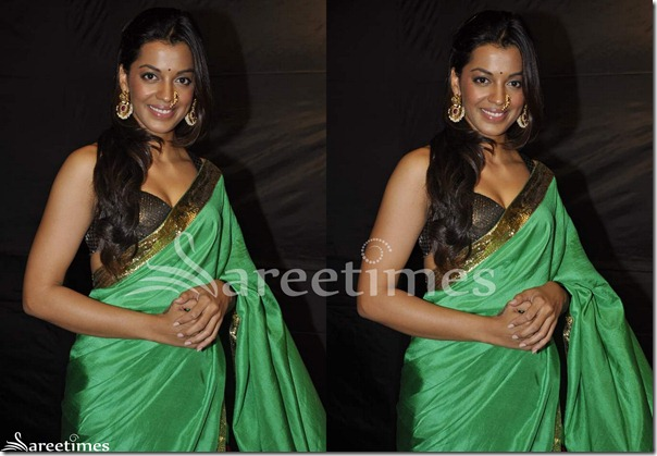 Mugdha_Godse_Masaba_Saree_Blouse