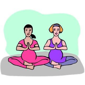 pregnancy yoga exercise