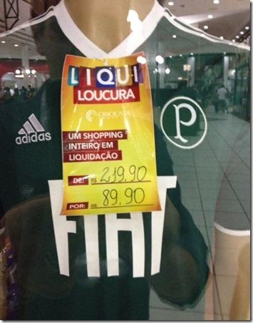 Palmeiras na B