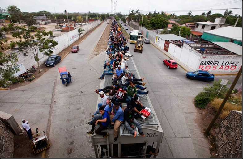 APTOPIX Mexico Migrants