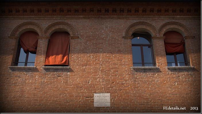 La casa di Biagio Rossetti, Foto2, Ferrara, Emilia Romagna, Italia - The house of Biagio Rossetti, Photo2, Ferrara, Emilia Romagna, Italy - Propertpy and Copyrights of FEdetails.net