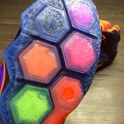 nike lebron 12 gr instinct 2 03 Another Look at the Nike LeBron 12 in Purple and Orange