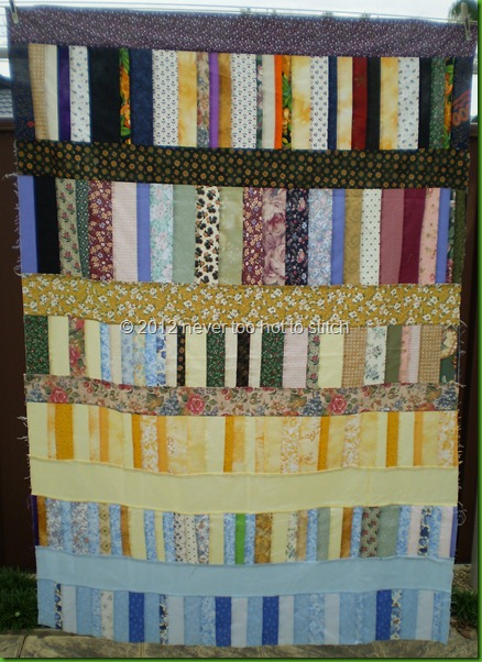 two quilts in one