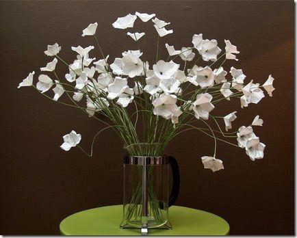 flores de papel 1 dia de la madre