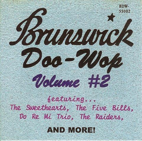 Brunswick Doo-Wop, Vol 2 - front
