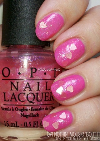OPI Nothin' Mousie 'Bout It (Minnie Mouse collection)