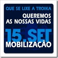 15 de Setembro - Vamos L.Set. 2012