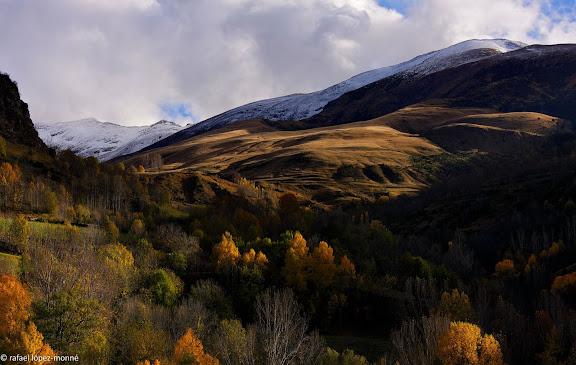 La vall de Boi i les muntanyes de Durro. Vall de Boi, Alta Ribagorca, Lleida