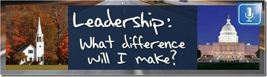 Leadership: What Difference Will I Make?