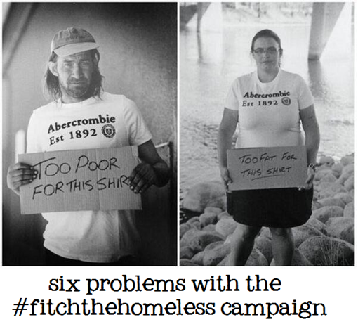 six problems with the #fitchthehomeless campaign