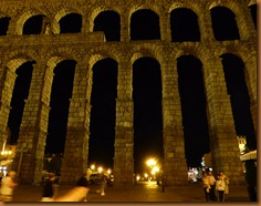 Segovia aqueduct N