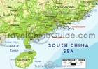 southeast China map