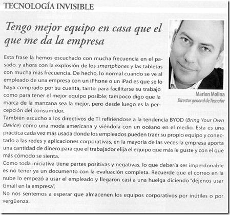 Tecnología Invisible - Marlon Molina