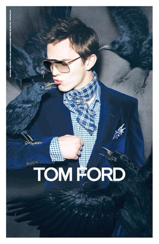 Nicolas Hoult for Tom Ford Eyewear