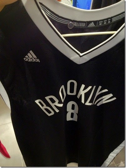 adidas Men's Brooklyn Nets Deron Williams #8 Road Black Replica Jersey