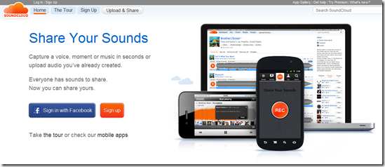 SoundCloud : Listen Music Online in Different ways
