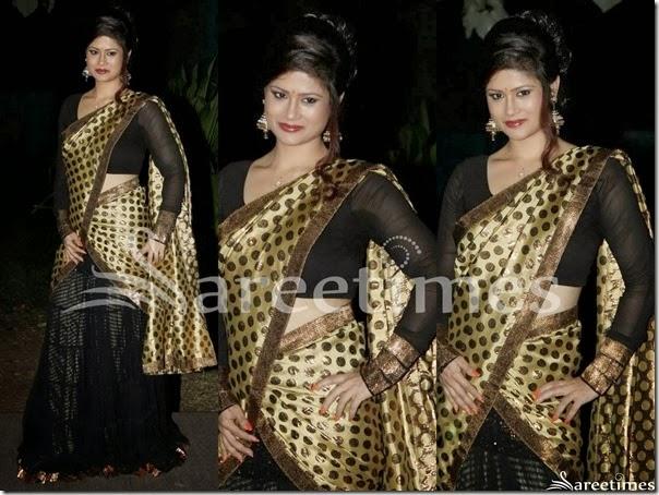 Shilpa_Chakravarthy_Half_Saree