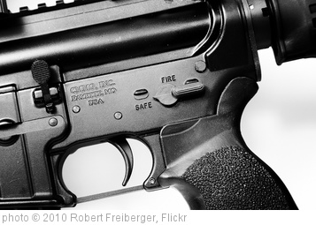 'AR-15' photo (c) 2010, Robert Freiberger - license: http://creativecommons.org/licenses/by/2.0/