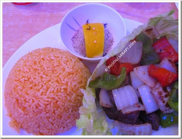 stir fried diced beef w rice© BUSOG! SARAP! 2009