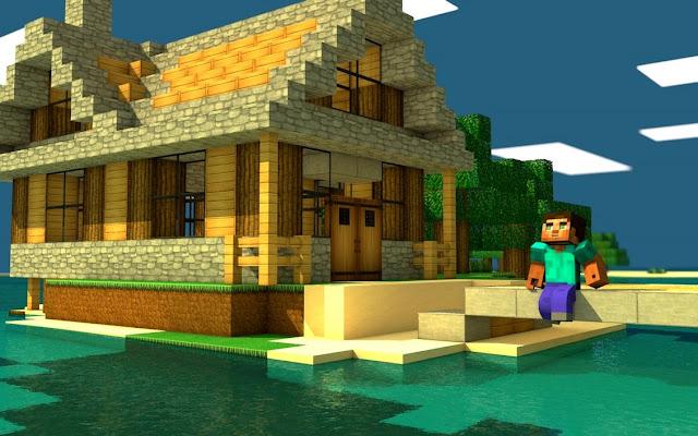 Fondos de minecraft minecraft casa - Fotos de casas del minecraft ...