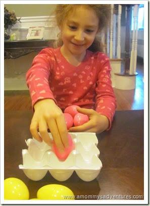 Egg Carton Tic Tac Toe