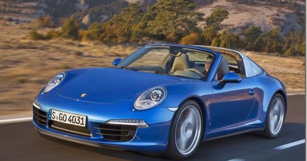 Porsche revela o novo 911 Targa