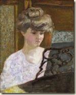 Misia au piano (Pierre Bonnard)