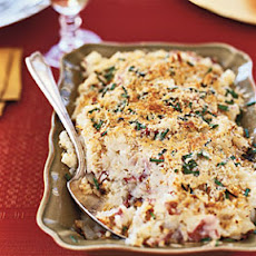 Parmesan-and-Chive Potato Gratin