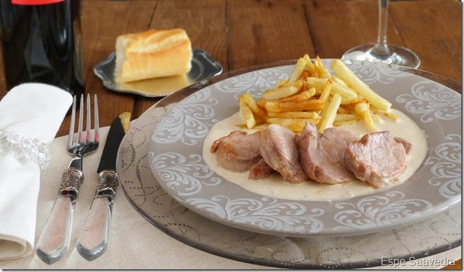 solomillo con salsa de foie espe saavedra