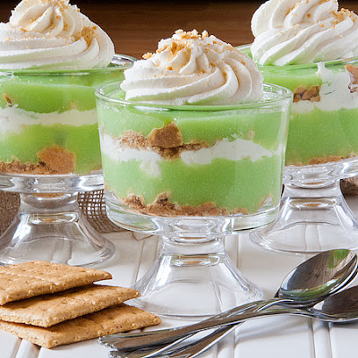 Key Lime Coconut Parfaits
