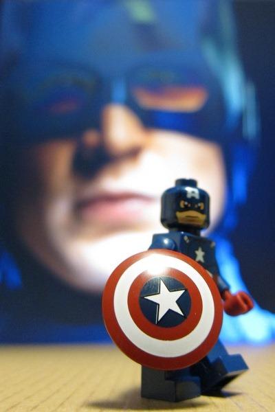 Captain America Avengers Minifig Lego