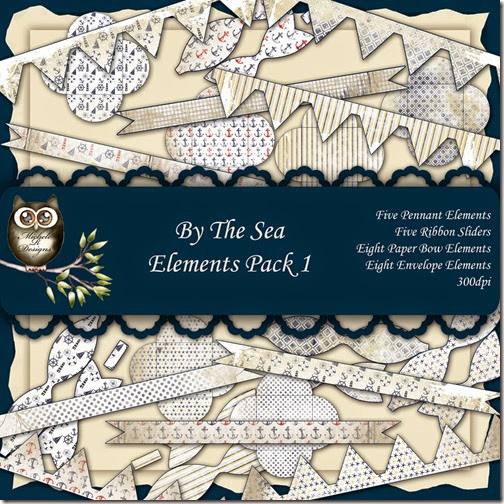 By The Sea Elements Front Sheet Pack 1