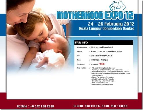 motherhood expo 2012