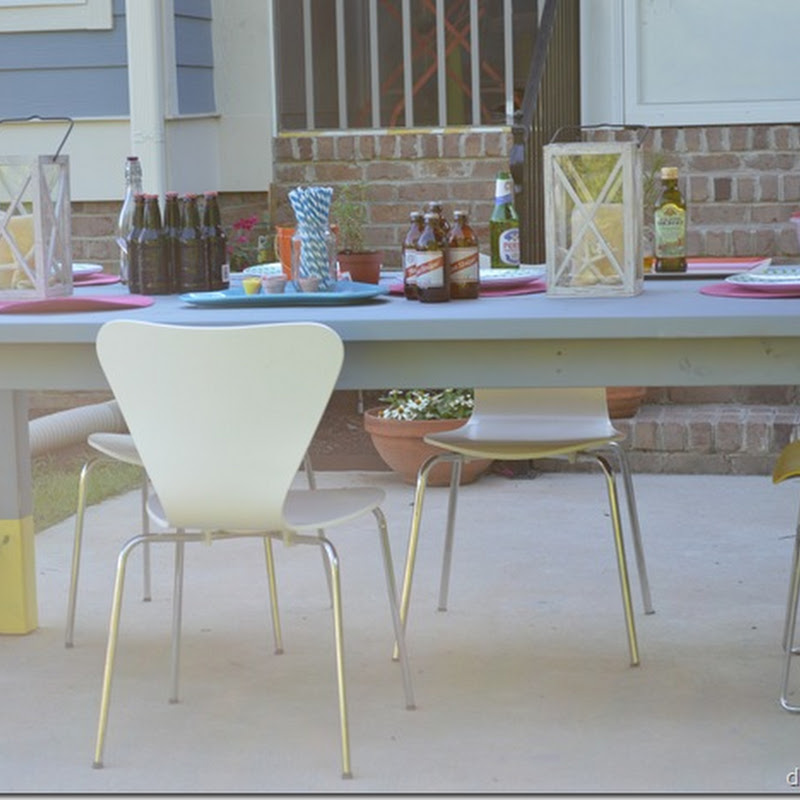 Our Made from Scratch Picnic Table: A DIY