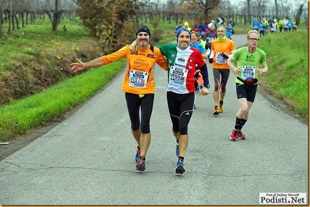 Flavio alla Maratona di Reggio Emilia