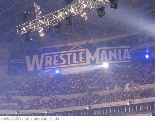'Wrestlemania 25' photo (c) 2009, EmerandSam - license: http://creativecommons.org/licenses/by-sa/2.0/