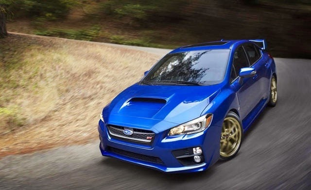 2015 Subaru WRX STI Leaked Photo 5