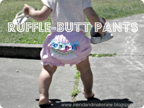 ruffle but pants