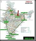 REISEROUTE INDIEN Varanasi