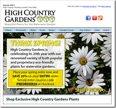 High Country Gardens is back