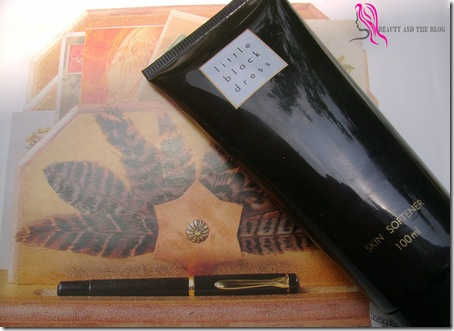 Review Avon Little Black Dress Skin Softener