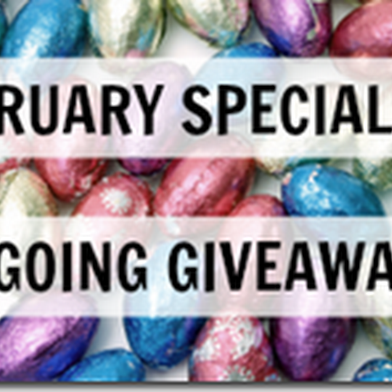 Orangeberry Book Tours – February Specials & Ongoing Giveaways
