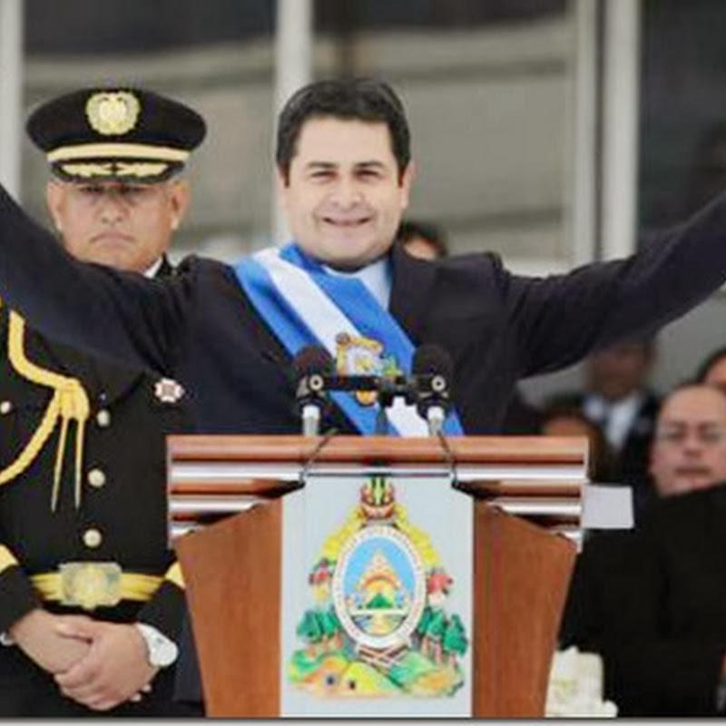 Juan Orlando Hernández asume el poder en Honduras con promesa de mano dura contra el crimen