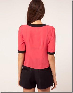 Lipsy Tie Front Blouse3