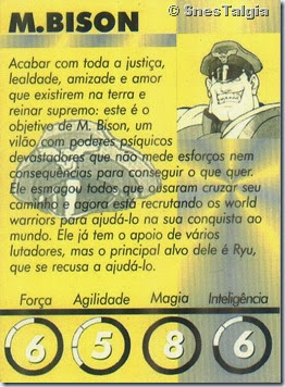 M Bison 2 - Card Street Fighter Zero 2